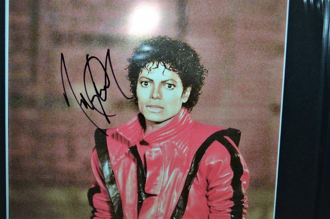Michael Jackson Autograph Thriller Photo. Jackson 5 - 2