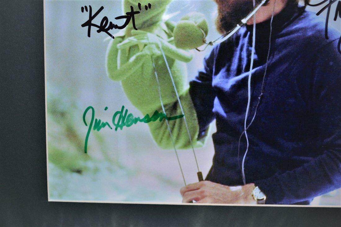 Jim Henson Autograph Muppets Cel. Kermit Autograph Cel. - 2