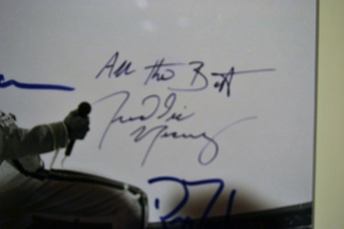 Queen Autograph Photo, Freddie Mercury Sign Photo, - 2