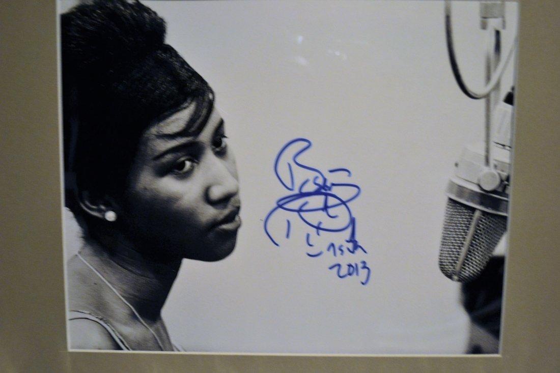 Aretha Franklin Autograph Photo, Aretha Franklin Sign - 2