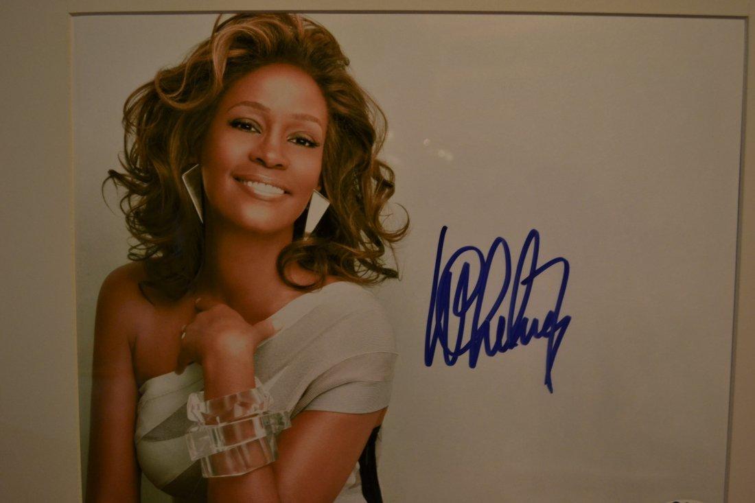 Whitney Houston Autograph, Whitney Houston Sign Photo - 2