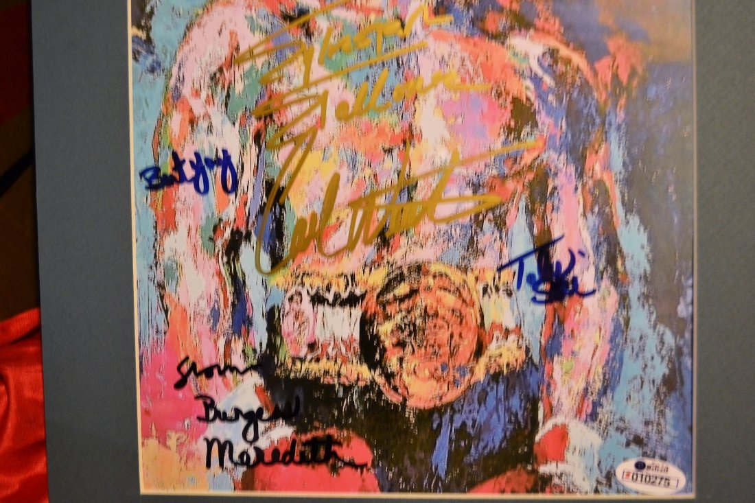 Rocky Autograph Leroy neiman, Rocky Sign Print - 2