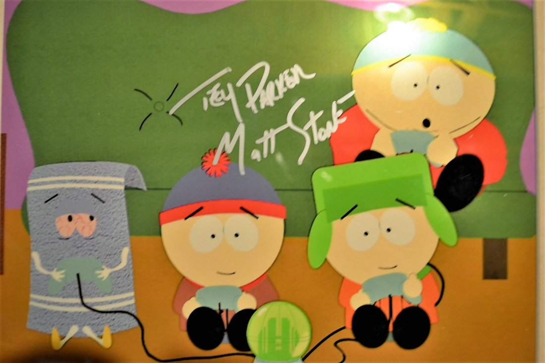 South Park Animation Cell , South Park Sign Cell - 2