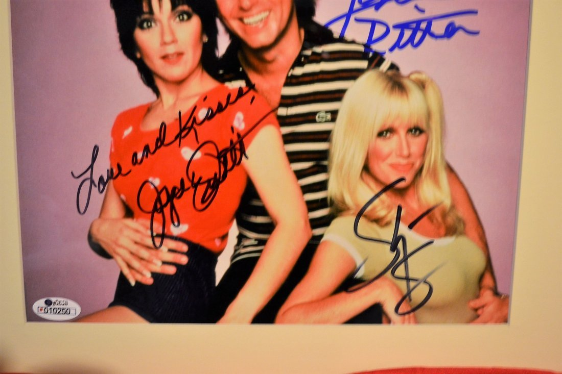 Threes Company Sign Photo, Threes Company Autograph - 2