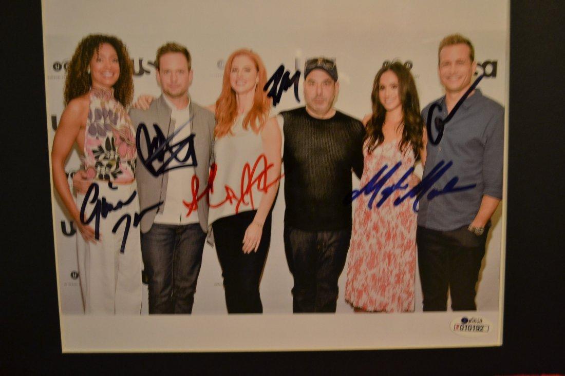 Suits Cast Autograph Photo, Megan Merkle Autograph