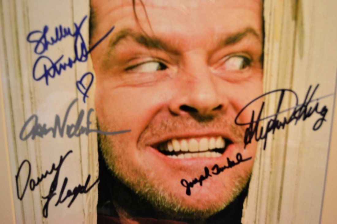 The Shinning Cast Autograph Photo, Steven King Sign - 2