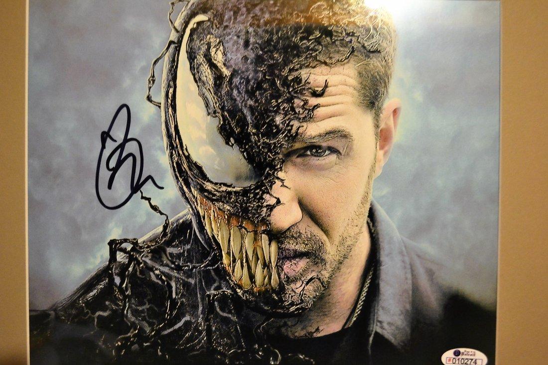 Tom Hardy Venom Autograph , Tom Hardy Sign Venom Photo