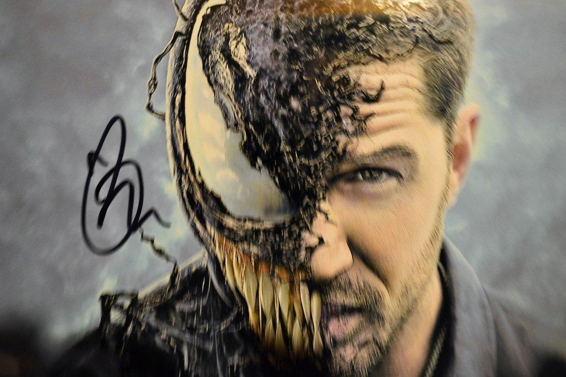 Tom Hardy Venom Autograph , Tom Hardy Sign Venom Photo - 2