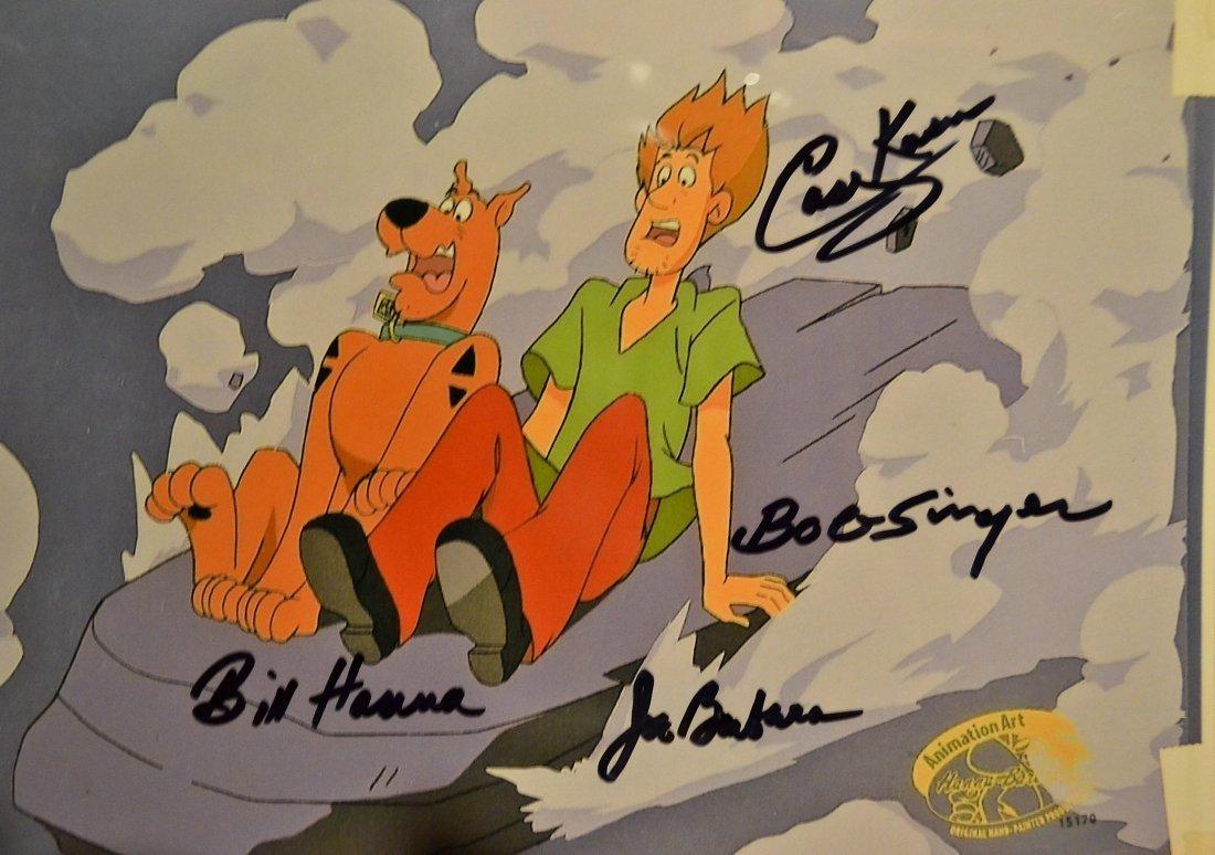 Scooby Doo Animation Cell, Scooby Doo Hanna Barbera Cel - 2