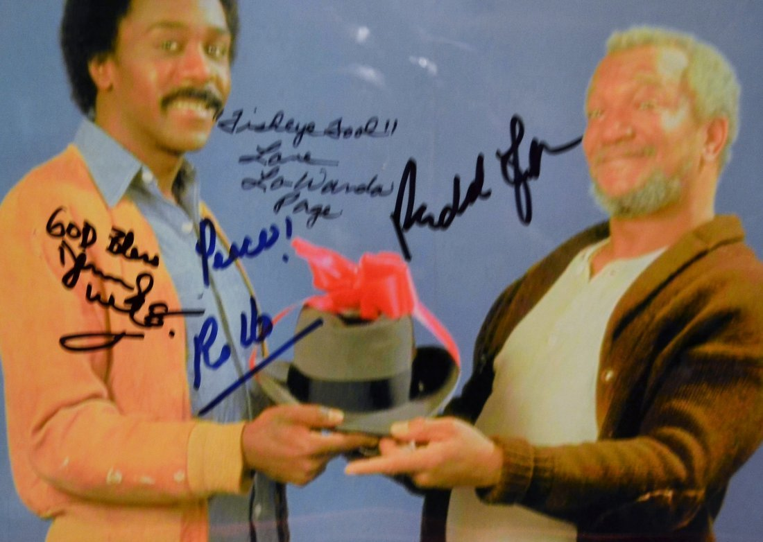Sanford and Son Autograph Photo, Sanford and Son Sign