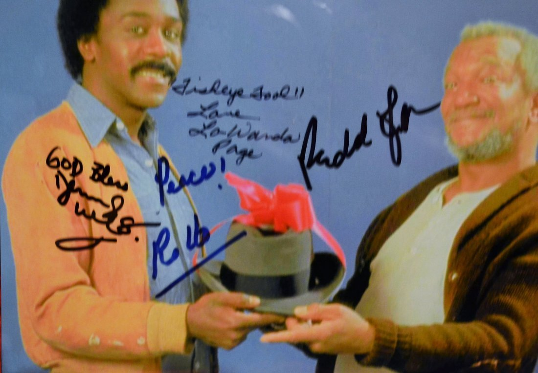 Sanford and Son Autograph Photo, Sanford and Son Sign - 2