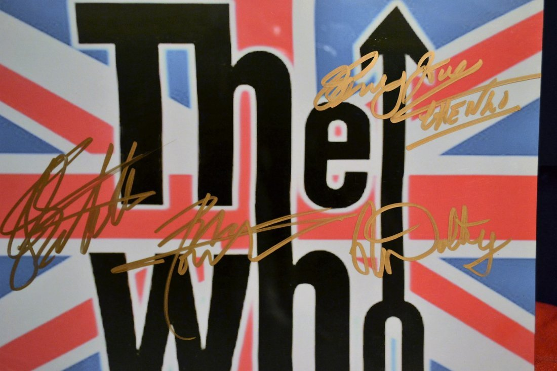 The Who Sign Photo, The Who Autograph Photo , The Who