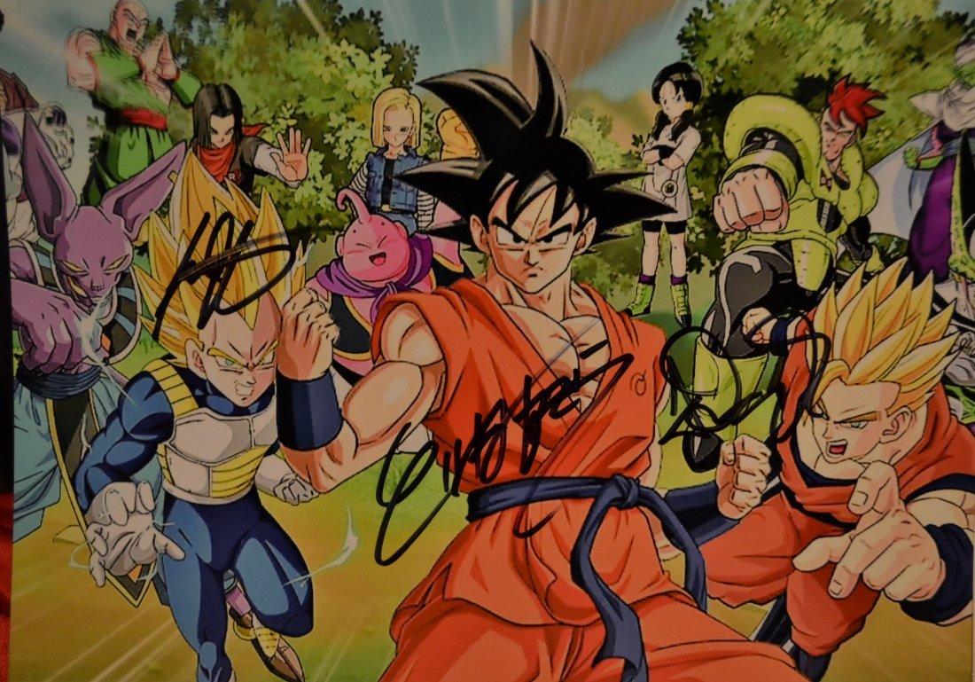 Dragon Ball Z Animation Cell , Dragon Ball Z Sign Art,