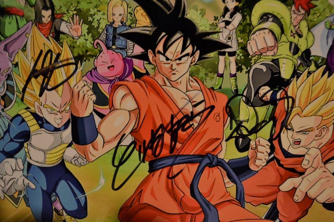 Dragon Ball Z Animation Cell , Dragon Ball Z Sign Art, - 2