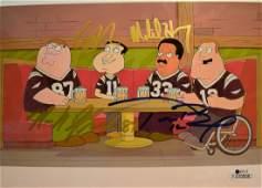 Family Guy Autograph Tom Brady Cell , family Guy Cell