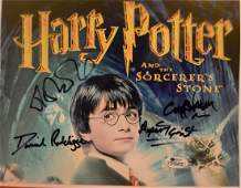 Harry Potter Autograph Photo  Harry Potter Sign Photo