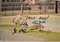 Steve Irwin Autograph Photo , Steve Irwin Sign picture