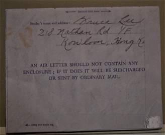 Bruce Lee Autograph Letter , Bruce Lee Sign Letter
