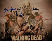 The Walking Dead Autograph Photo  Walking Dead