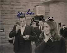 Johnny Cash Autograph Photo June Carter Cash