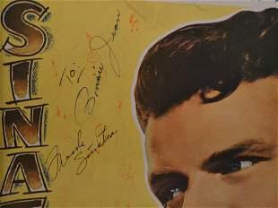 Frank Sinatra Autograph, Frank Sinatra Sheet music sign