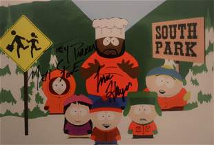 South Park Autograph Issac Hayes Sign Photo