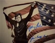 Johnny Cash Sign Photo , Johnny Cash Autograph Photo