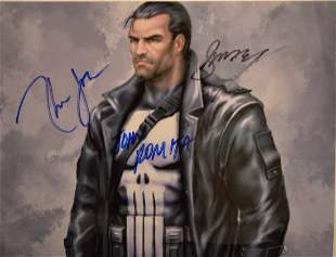 The Punisher Autograph Photo the Punisher Sign Photo