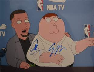 Family guy Autograph Steph Curry Curry Autograph