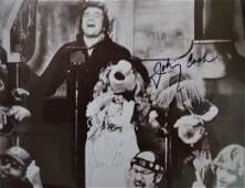 Johnny Cash the Muppets Autograph Photo , Jim Henson
