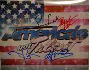Americas got talent Autograph Cast AGT Cast sign