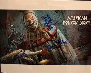 American Horror Story Autograph Cast AHS Cast Sign