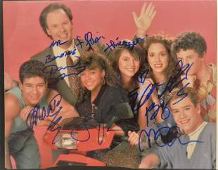 Save By The Bell Cast Autograph Photo Zack Morris