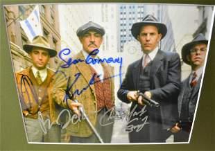 the Untouchables Sean Connery Autograph Photo cast sign