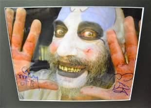 Rob Zombie Sign Photo Sig Haig autograph Photo