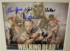 the walking dead cast Autograph  walking dead sign