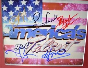 Americas got talent Autograph Photo