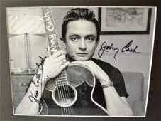 Johhny Cash Autograph photo , Johnny Cash sign photo