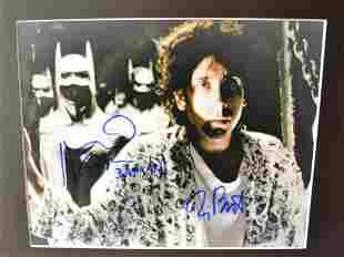Batman Promo Autograph Photo Tim Burton sign photo