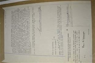 Samuel Goldwyn Sign 1946 Contract Samuel Goldwyn