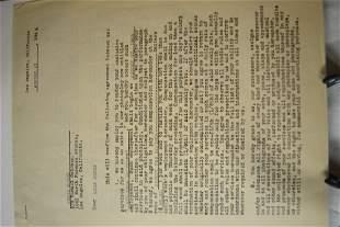 Gracie Burns Sign 1945 Contract gracie Allen