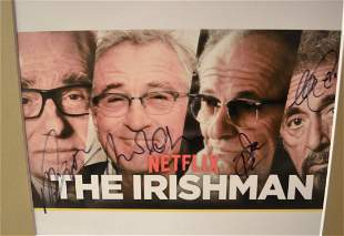 The Irishman Autograph Cast Pacino deniro pesci
