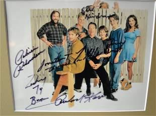 Home Improvement cast autograph Photo , Tim Allen cast