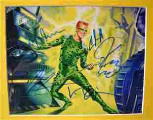 Batman Autograph Cast, Batman Sign Photo