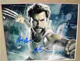 Wolverine Autograph Photo , Hug Jackman Sign Photo