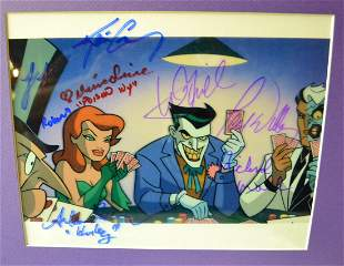 Batman Animated Sign Film Photo , Autograph Batman