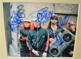 beastieboys Autograph Photo , the beastieboys sign phot