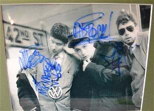 Beastie Boys Autograph, Beastie boys Sign Photo