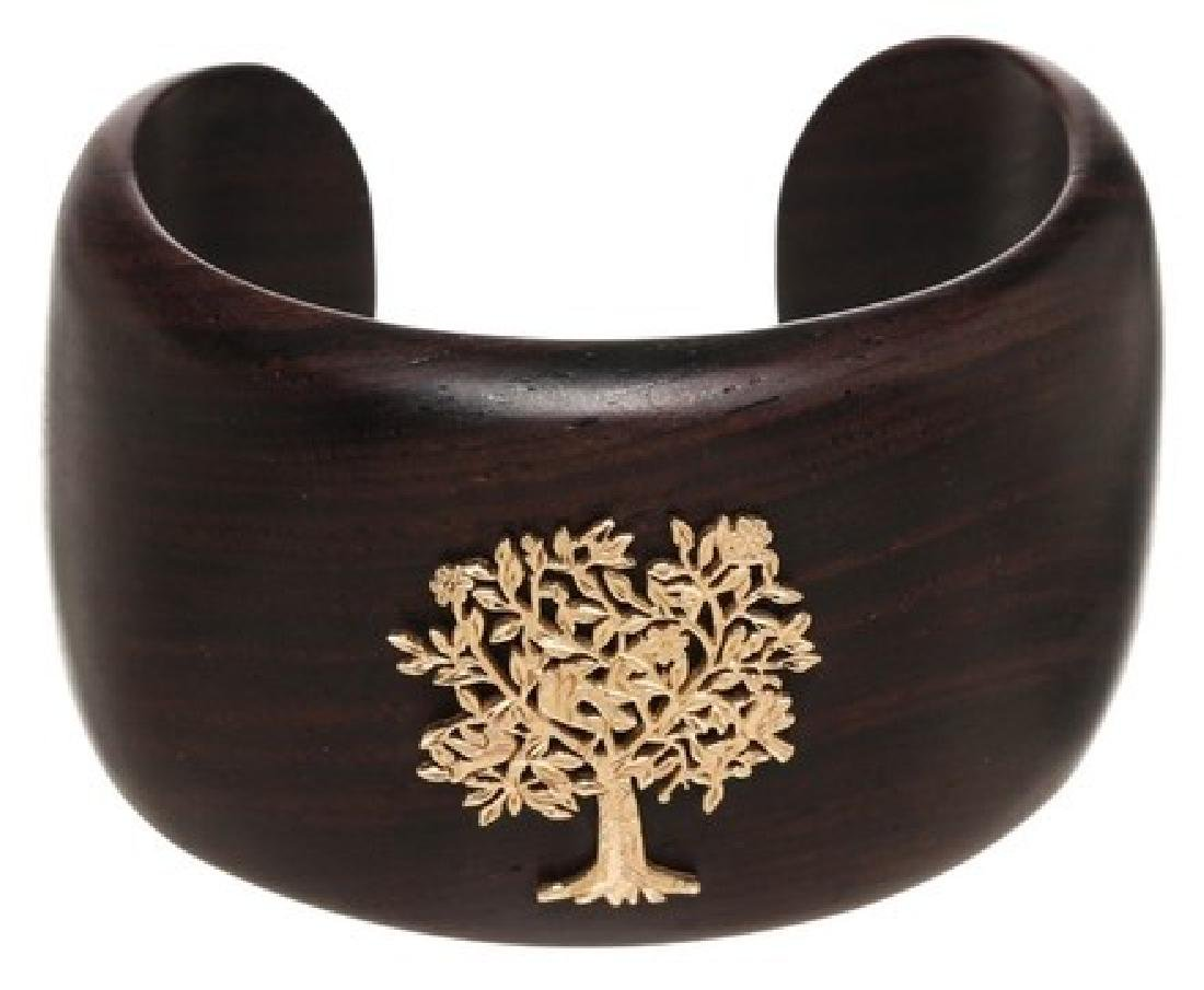 Emily West Brown Cuff  Bracelet