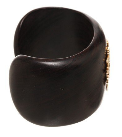 Emily West Brown Cuff  Bracelet - 4